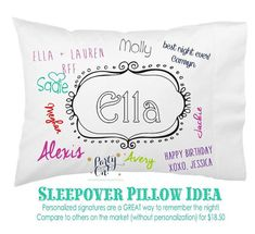 Best Friends Forever! Introducing our NEW line of BFF color-it-yourself pillowcases with 6 awesome design options. These come personalized