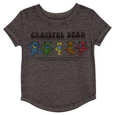 Toddler Girls' Grateful Dead T-Shirt - Cloudy Grey