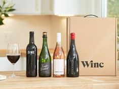 12 Best Wine Subscription & Delivery Services in Winc, Firstleaf, and Drink Delivery, Bright Cellars, Elegant Birthday Cakes, Different Types Of Wine, Wine Tasting Events, Wine Subscription, Wine Brands, Wine Decor, Wine And Liquor