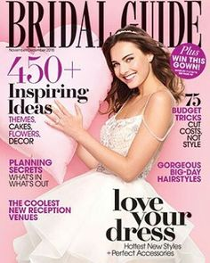 Next up for #FridayGiveaway is the @bridalguide & @CristianoLucciBridal cover gown giveaway! BridalGuide #CristianoLucci #Honeymoon #Sweepstakes #giveaway #EngagementRing #friday #fbf #flashbackfriday #bride #groom #couple #HePutARingOnIt #ShePutARingOnIt #BrideOnABudget #DIYWedding #wedding #weddinginspiration