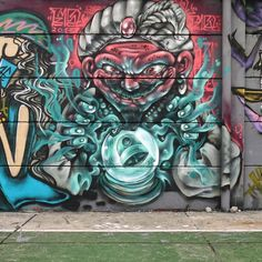 Psychic vibes from @f21st in Indonesia (http://globalstreetart.com/f21st).