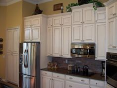 Click to View before and after - this kitchen had the overhanging faux bulkhead before.