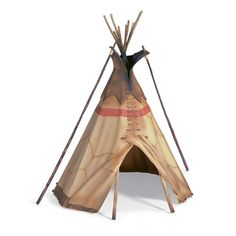 Kids build an Indian Tipi Tent to camp or play in. A tipi is a portable tent-like home of the Americans Indians often confused with a wigwam. Make a tipi the easy way. Play Teepee, Play Tents, Miniature Horses For Sale, Homemade Christmas Presents, Indian Teepee, Portable Tent, Kool Kids, Building For Kids, Miniture Things