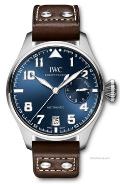 """IWC - Big Pilot's Watch Edition """"Le Petit Prince"""". The fourth watch paying homage to Antoine de Saint-Exupery."""