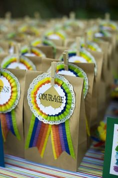 Wizard of Oz - Rainbow Birthday Party Ideas | Photo 35 of 52 | Catch My Party