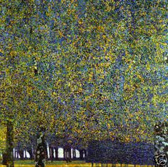 Gustav Klimt  The Park