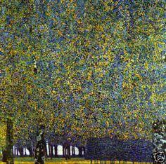 Gustav Klimt  The Park