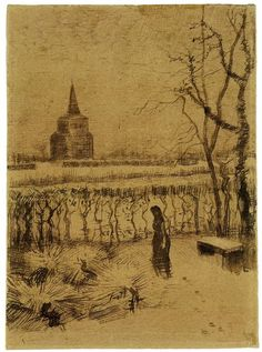 Vincent Van Gogh「Melancholy」(1883)