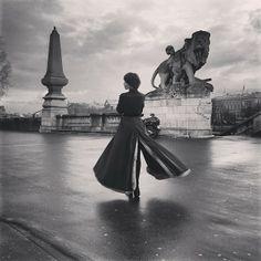 Ulyana Sergeenko in Paris