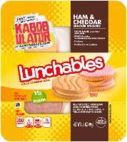 Lunchables Ham & Cheddar with Vanilla Crème Cookie oz Tray Ham And Cheese, Cheddar Cheese, Biscuits, Cheese Cultures, How To Make Sandwich, Snack Recipes, Snacks, Lunch To Go, Sandwich Cookies