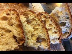 Italian bread no knead liquid mother yeast No Knead Bread, Italian Bread, Pizza, Youtube, Breads, Food, Eten, Meals