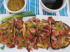 Boneless Pork Short Rib Breakfast Tacos  #PaleOMG