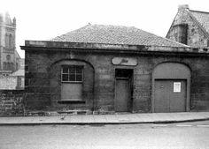 Henderson Row, Stockbridge - ex-Police Station photographed in 1964 Police Box, Police Station, Stockbridge Edinburgh, Industrial Architecture, Edinburgh Scotland, Livingston, The Row, Gazebo, Landscapes