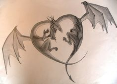 dragons in love | Dragons in love by ~teh714 on deviantART