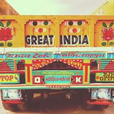 Indian Truck Art   Beauty of India Tours   India Private Drive Tours   Your Delhi, Rajasthan and North India Specialist  visit us at: www.beautyofindiatours.com