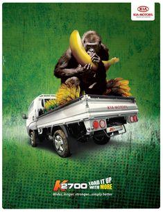 KIA Print Advert By Espacio Creativo: Gorilla | Ads of the World™