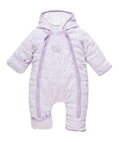 This Light Lilac Fleece Bunting - Infant & Toddler by Chicco is perfect! #zulilyfinds