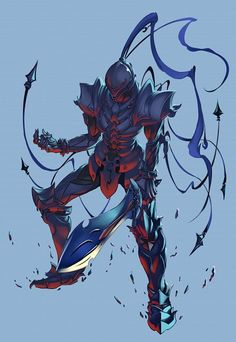 Fate/Zero - Berserker. Such a great piece of deviant art