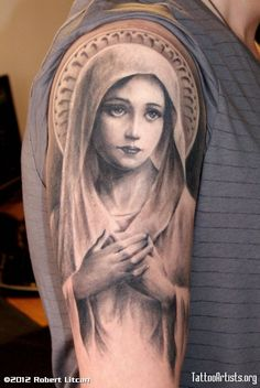 Virgin Mary I'm not very religious but this is beautiful