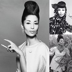 Muse: @china_machado was Richard Avedon, Balenciaga, and Givenchy favorite muse.  Born in Shanghai to Portuguese father and Chinese mother.  Machado was the first non-Caucasian to appear on the cover of Haper Bazaar in Feb 1959.    #chinamachado #muses #herstory #highfashion #balenciaga #givenchy #richardavedon #regram #sanfrancisco #bumbleandbumble #kerastase #randco