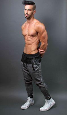 Mark skinny sweats