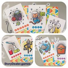 Diy maker set is a do it yourself storytelling card game also story dealer storytelling cards for creative thinking stories 52 cards per deck to help solutioingenieria Images