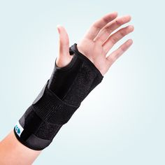 The Benecare Universal Wrist Brace protects and supports the wrist