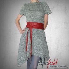 rochie tricotata din fir subtire Waist Skirt, High Waisted Skirt, Knitwear, Sewing, Skirts, How To Wear, Handmade, Dresses, Fashion