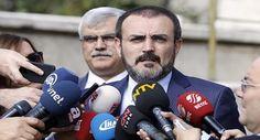 AK Parti Sözcüsü Mahir Ünal: Vize krizi ile ilgili yeni
