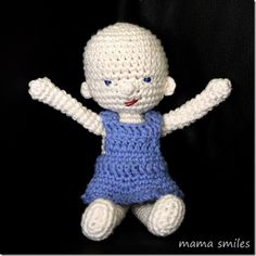 Amigurumi and Waldorf Inspired Baby Doll Crochet Pattern - Mama Smiles - Joyful Parenting