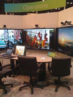 Cisco TelePresence showing off its operational skills