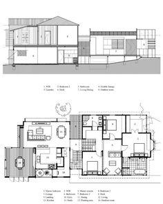 Queenslander, Home Design Plans, Extensions, Floor Plans, Cottage, House Design, Flooring, How To Plan, Cottages