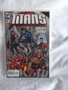 TITANS #16 Jun 2000 D.C. COMIC Book Gargoyle's Revenge!