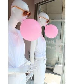 WEBSTA @ f_u_t_u_r_o - Check check!!! Our new article dedicated to the sweetest color link in bio#pink#windowdisplay#windowdresser#futurodesignstore#love#bubble#shockingpink#elsaschiaparelli#lanvin#victoriassecret#printemps#selfridgeslondon#mannequin#sexy#seductive#fuxia#lingerie#tumblr#blog#learnmore