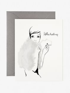 Garance Doré Boutique - Hello, Darling Card
