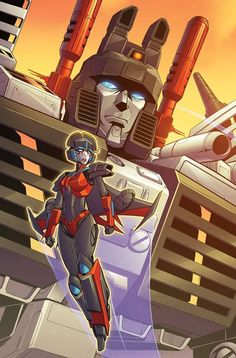 Transformers: Till All Are One #1 - Clean Art For Sara Pitre-Durocher & Thomas Deer's #TAAO Retailer Incentive Cover