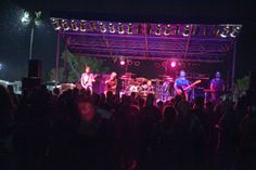"""The band """"Firehouse"""" in concert at the River City Star Landing"""