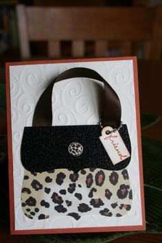 purse card using Top Note