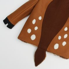 Baby Fawn Coat// Bambi Coat // Baby Winter Outerwear//