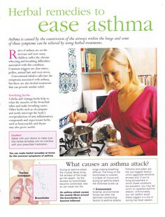 Herbs:  #Herbal Remedies to Ease Asthma.