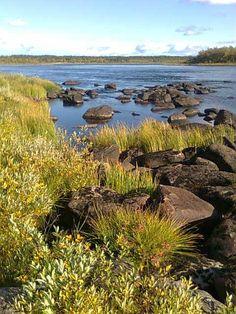 River Tornio-Muonio in Lapland of Finland - Tornio-MUONIO joki - Kuva Kaisu Rissanen