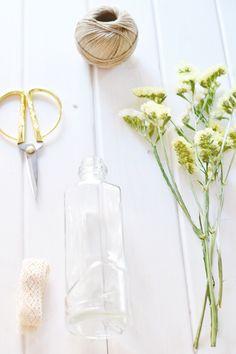 DIY botella de cristal | The Little Suite | Mums