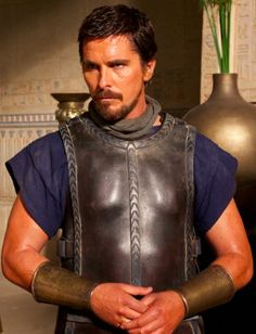 Christian Bale as Moses in Exodus: Gods and Kings, due out December 12, 2014.