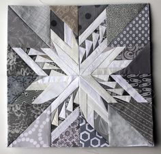 This is an incredible block!!!! Two Carol Doak patterns combined. http://wombatquilts.files.wordpress.com/2013/12/snowflake-quilt-block.jpg