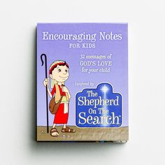 The Shepherd On The Search - Encouraging Notes for Kids - 32 Note Set Interactive Books For Kids, The Search, Advent Season, Beginning Reading, Let The Fun Begin, The Shepherd, All Gifts, Gods Love, Parenting Hacks
