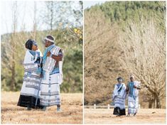 Tobani & Nizi's Traditional African Wedding photos as well as their White Wedding. The wedding took place in East London and McClear, South Africa