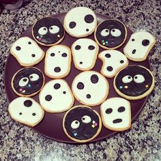 """kodama cookies. This goes intentionally in the """"garden"""" section..."""