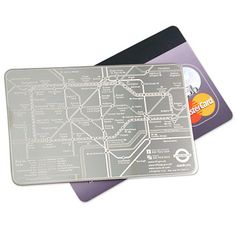 Credit Card Map of the London Underground £7.99