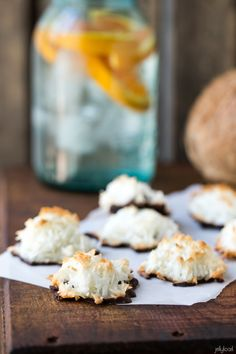 chocolate dipped coconut macaroons - Jelly Toast