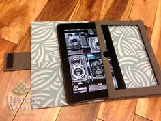 DIY kindle case... I would do it for my nook